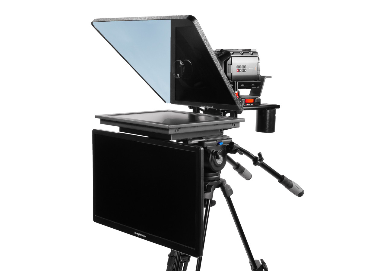 "ProLine Plus 17"" Studio (Trapezoidal) HighBright 1000 NIT HD-SDI Auto-Reversing with 24"" Regular HDMI Talent Monitor"
