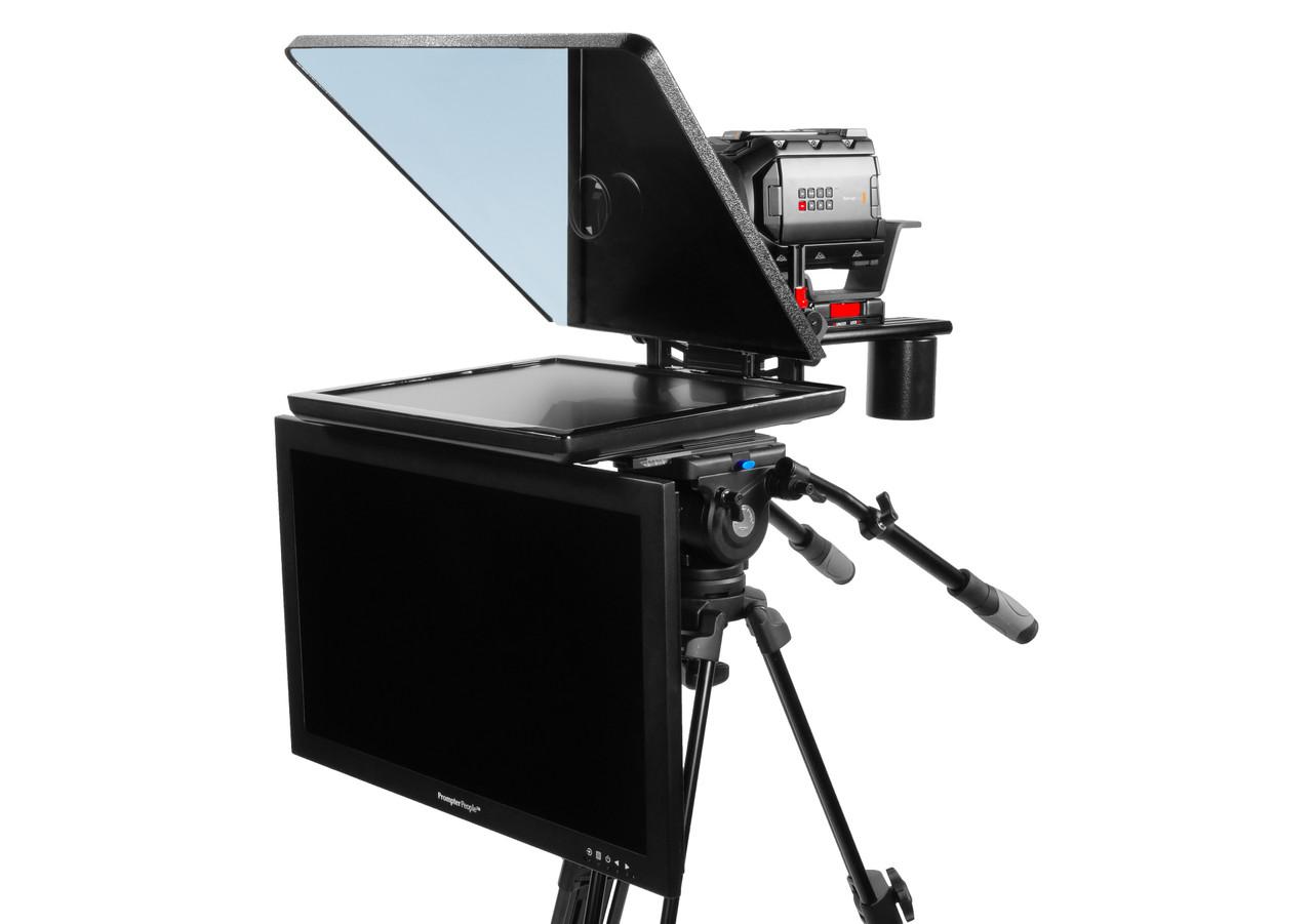 "ProLine Plus 19"" Studio (Trapezoidal) Regular Auto-Reversing HDMI with 24"" HighBright 1000 NIT HD-SDI Talent Monitor"