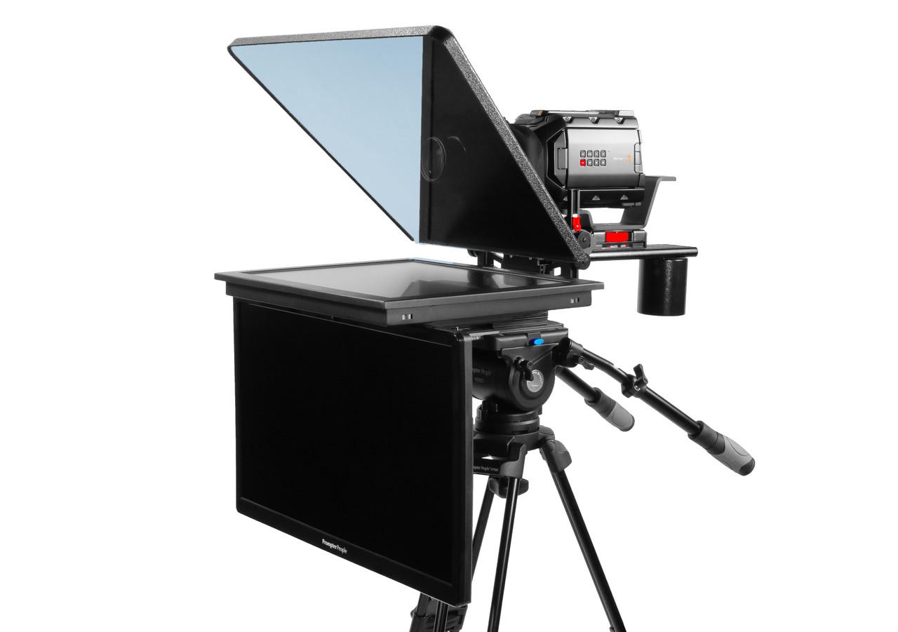 "ProLine Plus 19"" Studio (Trapezoidal) HighBright 1000 NIT HD-SDI Auto-Reversing with 24"" Regular HDMI Talent Monitor"