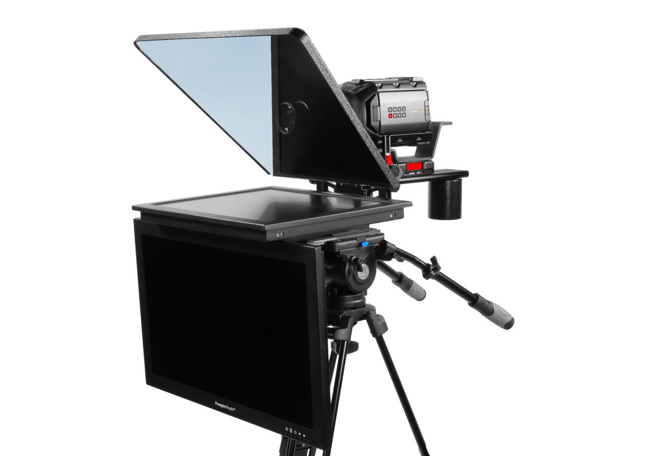 "ProLine Plus 19"" Studio (Trapezoidal) HighBright 1000 NIT HD-SDI Auto-Reversing with 24"" HighBright 1000 NIT HD-SDI Talent Monitor"