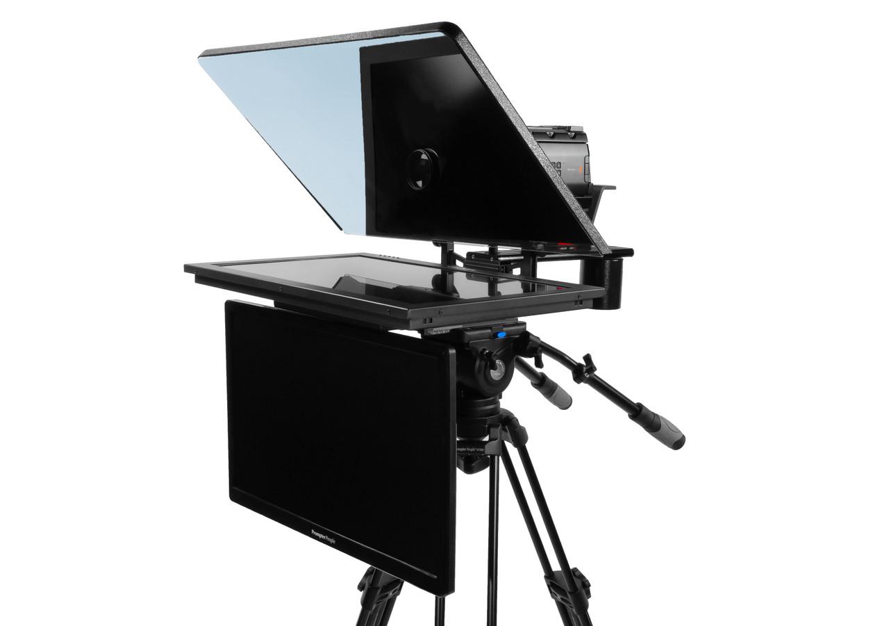 "ProLine Plus 24"" Widescreen HighBright 1000 NIT HD-SDI Auto-Reversing with 24"" Regular HDMI Talent Monitor"