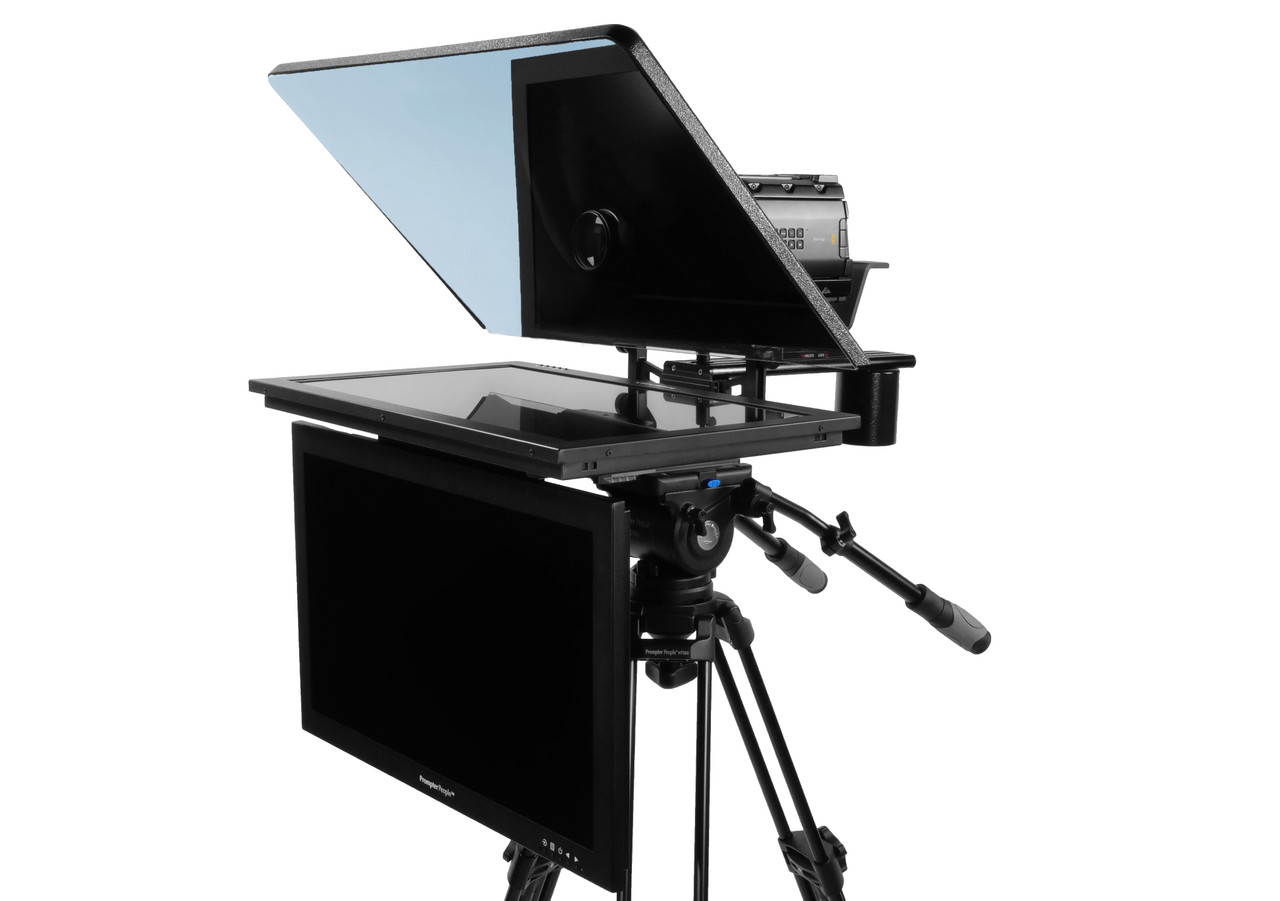 "ProLine Plus 24"" Widescreen HighBright 1000 NIT HD-SDI Auto-Reversing with 24"" HighBright 1000 NIT HD-SDI Talent Monitor"