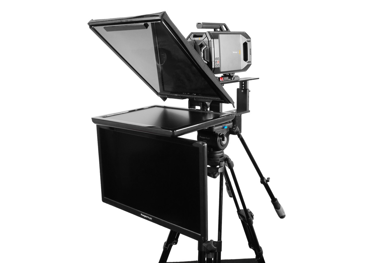"Q Gear Pro 19"" REG with 24"" REG Talent Monitor Teleprompter"