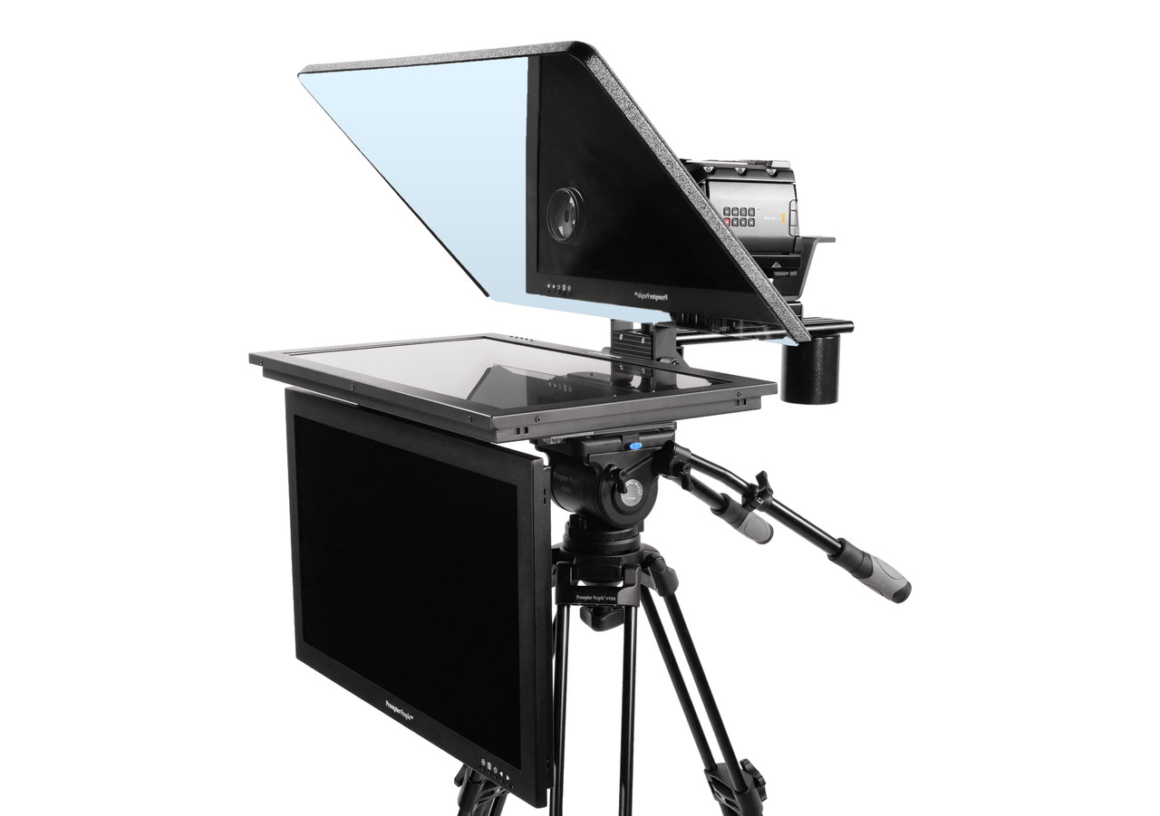 "Flex Plus 24"" HD-SDI HighBright with 24"" HighBright HD-SDI Monitor Teleprompter - Talent Monitor Model"
