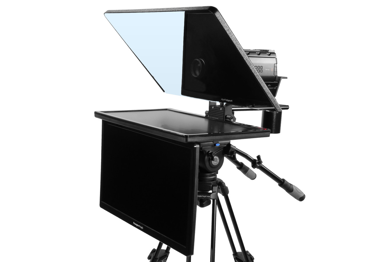 "Flex Plus 24"" HDMI Regular Monitor with 24"" HDMI Regular Monitor Teleprompter - Talent Monitor Model"