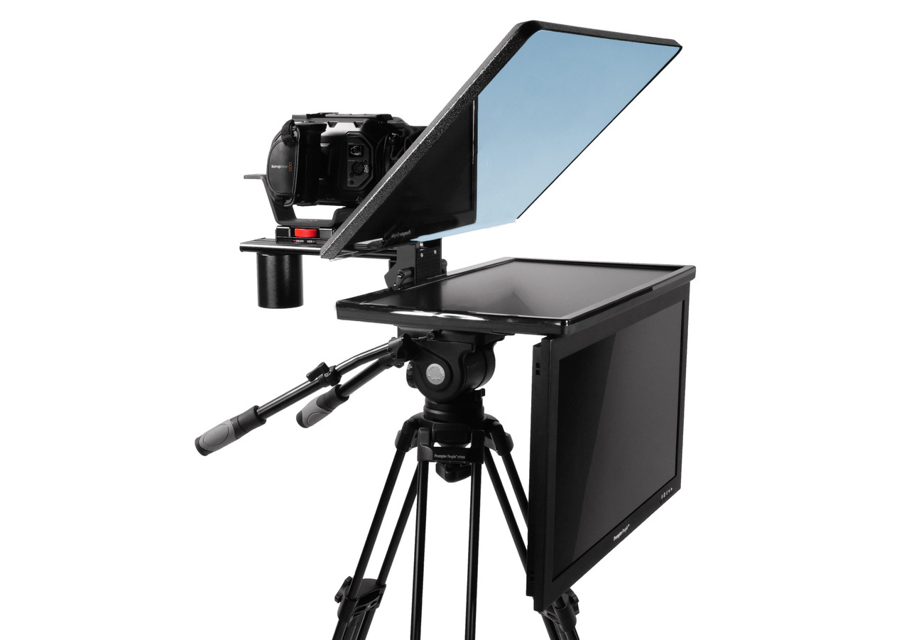"Flex Plus 24"" HDMI Regular Monitor with 24"" HighBright HD-SDI Monitor Teleprompter - Talent Monitor Model"