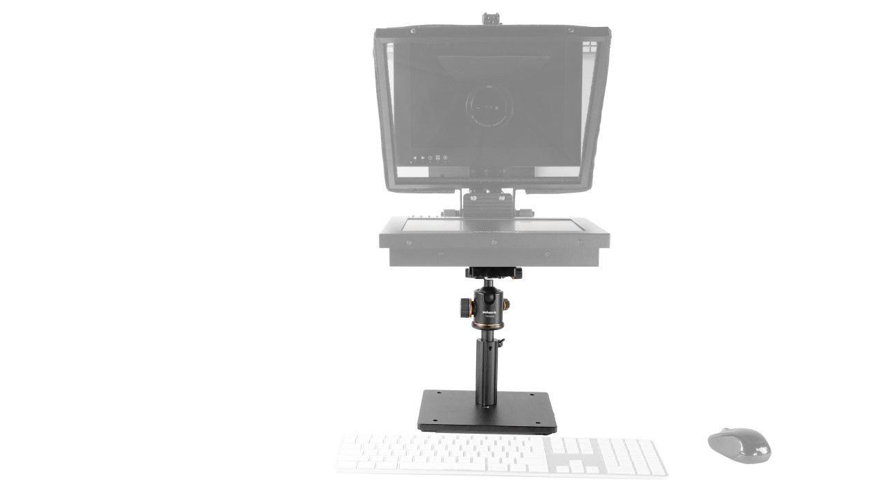 "Desktop Upgrade Kit for Prompter People 10"" - 12"" Teleprompters Face"