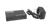 Quad Split HDMI Signal Splitter Box with Cable