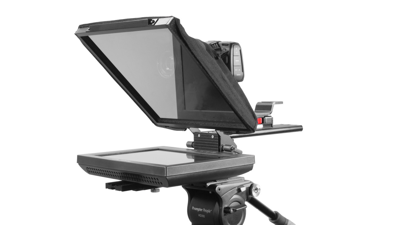Prompter Pal Pro Tablet, Surface Pro, iPad Pro Affordable and Professional Teleprompter Regular Monitor Model