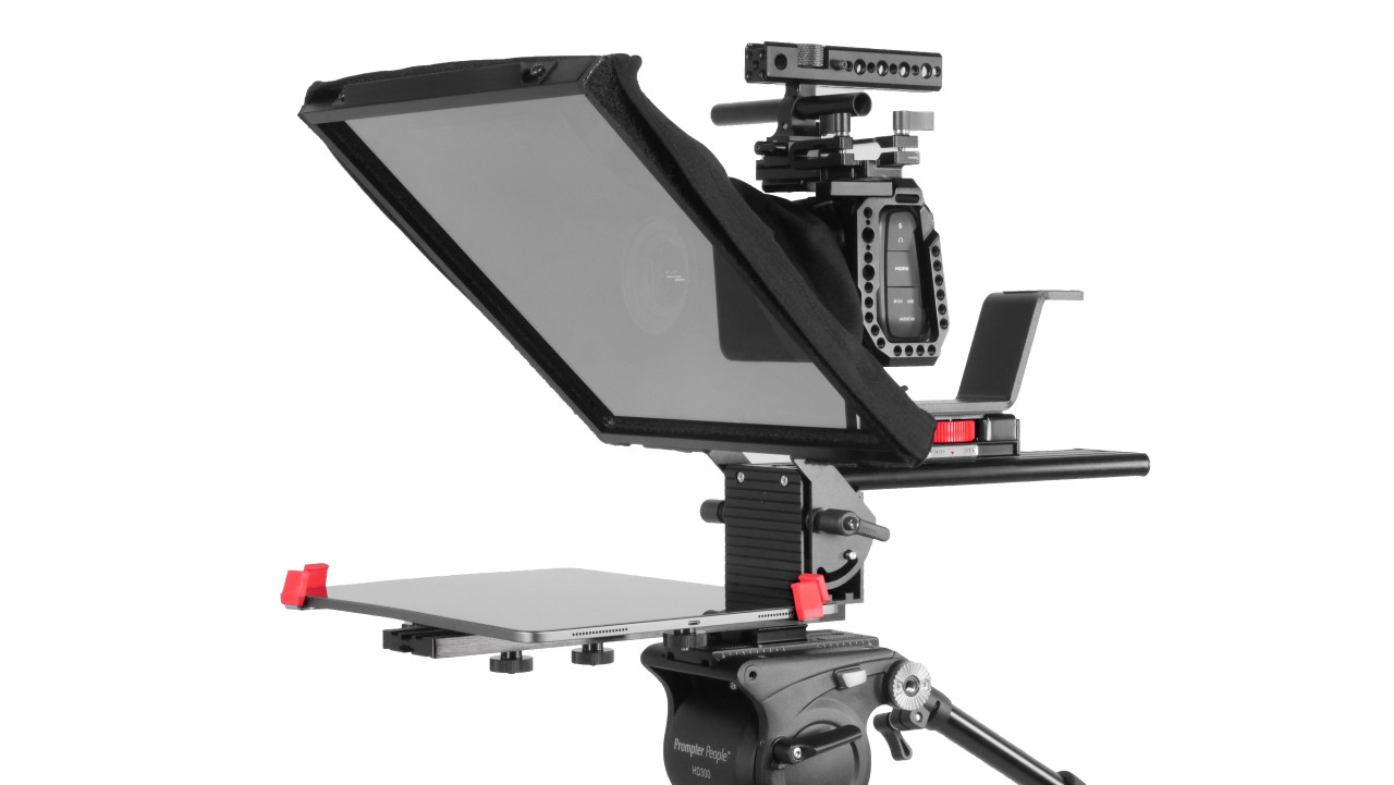 Prompter Pal Pro Tablet, Surface Pro, iPad Pro Affordable and Professional Teleprompter
