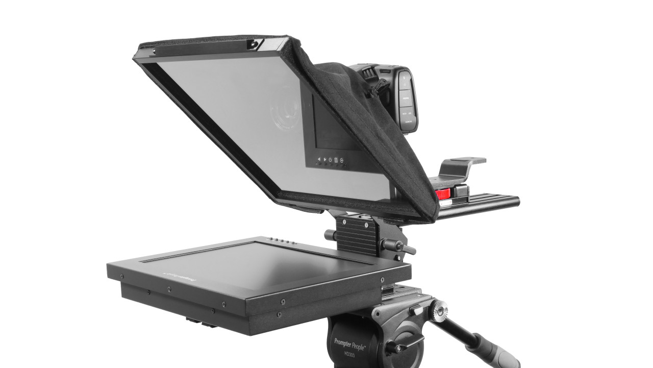 Prompter Pal Pro Tablet, Surface Pro, iPad Pro Affordable and Professional Teleprompter HighBright Model