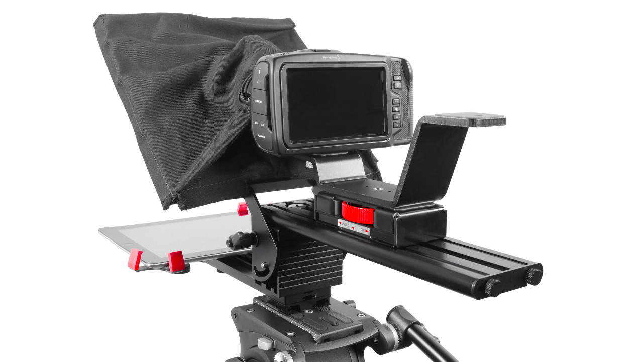 Prompter Pal Pro Tablet, Surface Pro, iPad Pro Affordable and Professional Teleprompter Back