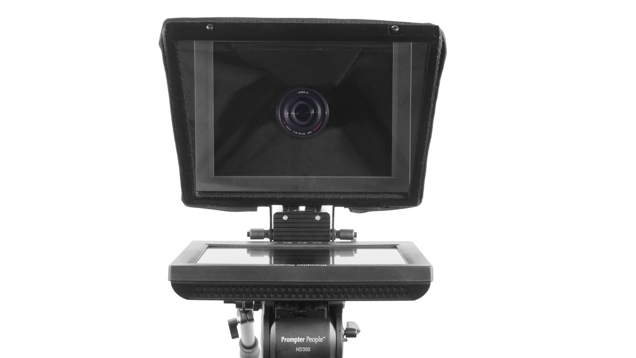 Prompter Pal Pro Tablet, Surface Pro, iPad Pro Affordable and Professional Teleprompter Regular Monitor Model Face