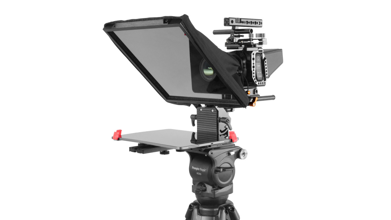 Prompter Pal Pro Tablet, Surface Pro, iPad Pro Affordable and Professional Teleprompter 15MM Model