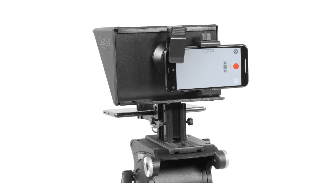 Prompter People Pocket Cue Smart Phone, iPhone, Android Phone Teleprompter - Smart Phone Back