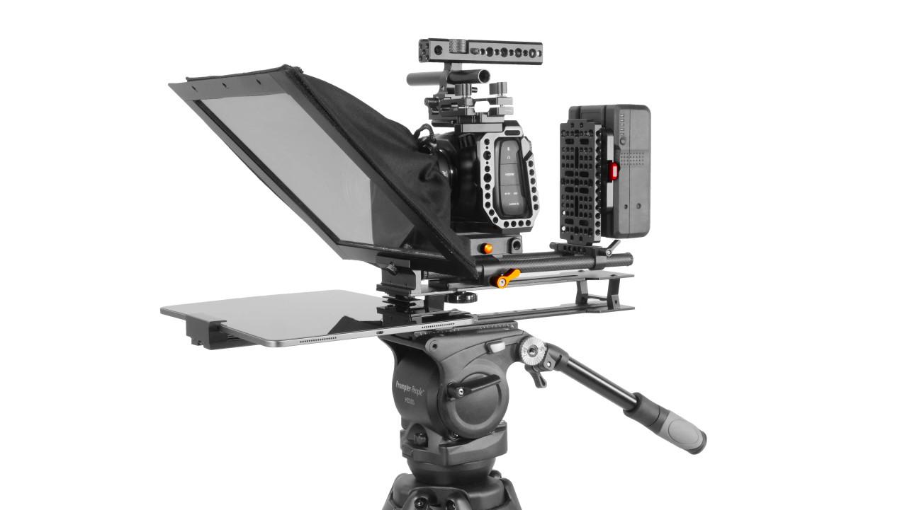 UltraLight iPad Pro Teleprompter Mark II Side