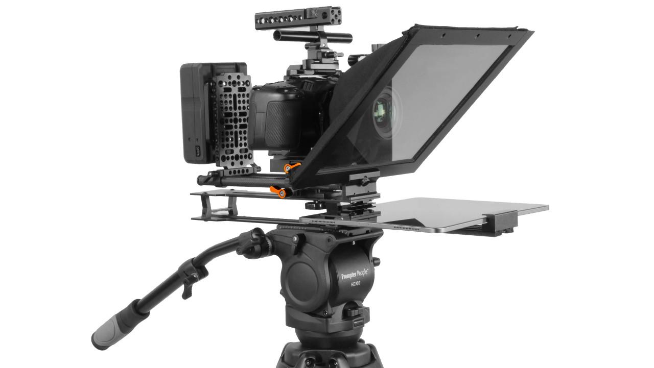 UltraLight iPad Pro Teleprompter Mark II Left