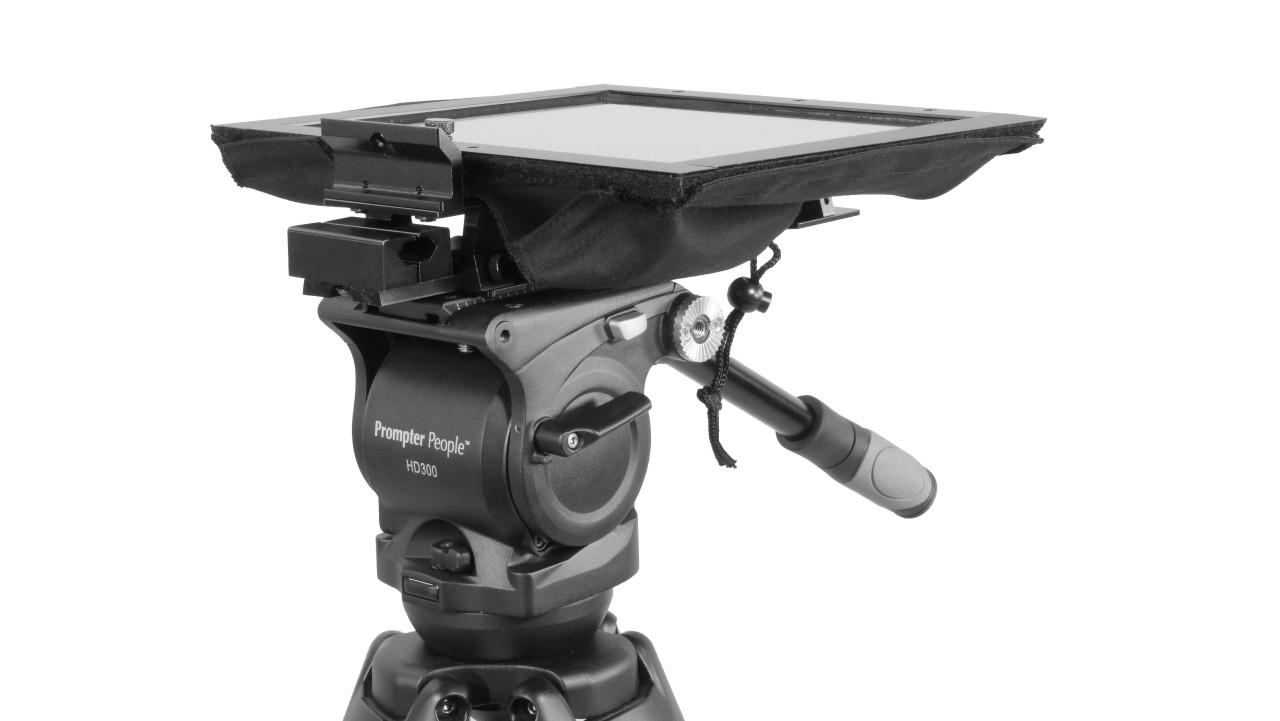 UltraLight iPad Pro Teleprompter Mark II Hood Fold
