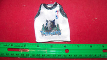 1/6 Scale Cy Girl Female Basketball Jersy Timberwolves #21 Garnett