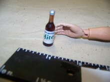 1:6th Scale Beer Bottle