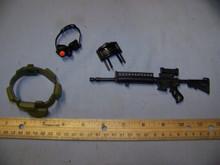 1/6 Scale GI joe Bandoleer, Rifle, Claymore & NVG