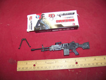 1/6 Scale Boxed SAW Machine Gun w/Bi-pod kit