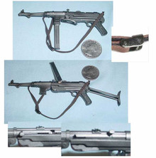 Miniature 1/6th Scale German MP-40 Machine Gun