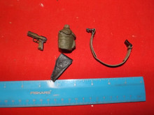 1/6 Scale Dragon Belt, Canteen, Cover Pistol & Holster