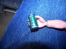 1/6th Scale 7-UP Soda pop Can
