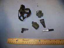 1:6th Scale Pistol, Holster Belt & More #41