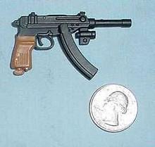 Miniature 1/6th Scale Scorpion Machine Pistol w/double clip
