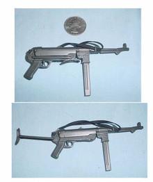 Miniature 1/6th Scale German MP-40 Machine Gun w/folding stock