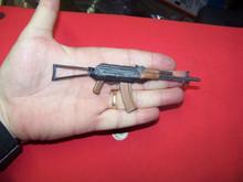 1/6th Scale Minature AK-74 Rifle w/Folding Stock