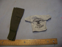 1:6th Scale Green Pants & Air force T-shirt