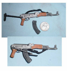 Miniature 1/6th Scale AK-47 Assault Rifle w/folding stock