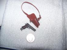 Miniature 1/6 1911 COLT 45 w/shoulder holster