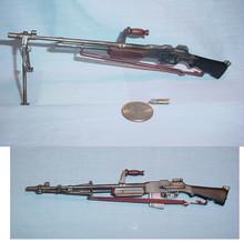 Miniature 1/6 Scale WW2 US BAR Rifle