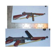 Miniature 1/6 WW2 U.S Thompson sub machine gun