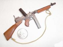 Miniature 1/6 WW2 U.S. Thompson Tommy Gun SMG