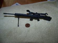 Miniature 1/6th Scale Sniper Rifle