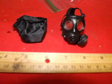 Miniature 1/6th Police SAS Army Gas Mask & More #6