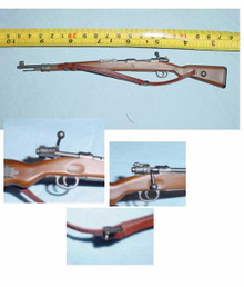 Miniature 1/6 Scale German KAR 98 Rifle w/leather-like Sling