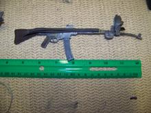 "Miniature 1/6 WWII German MP44 Assault Rifle Curved Barrel No Sling  ""RARE"""