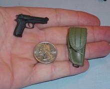 Miniature 1/6 Scale Bertta M92-F  W/holster