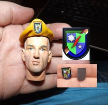 1:6 Scale 75th Ranger Flash, Beret sold separtely