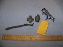 1/6th Scale Belt, Pouches, MP5 & Dickie