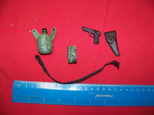 1/6 Scale Dragon Belt , Pistol, Holster, Canteen & Pouch #3
