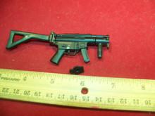 Miniature 1/6  Scale Metal MP5K w/Folding Stock