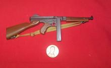 Miniature 1/6 WWII U.S. Thompson Tommy Gun SMG