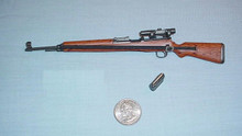 Miniature 1/6 WW2 German G43 sniper rifle 32